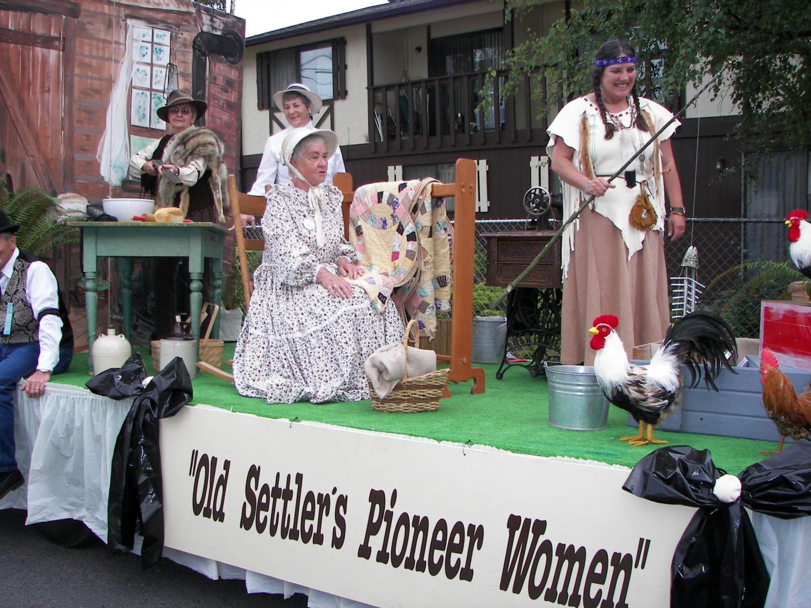 Celebrating Pioneer Women