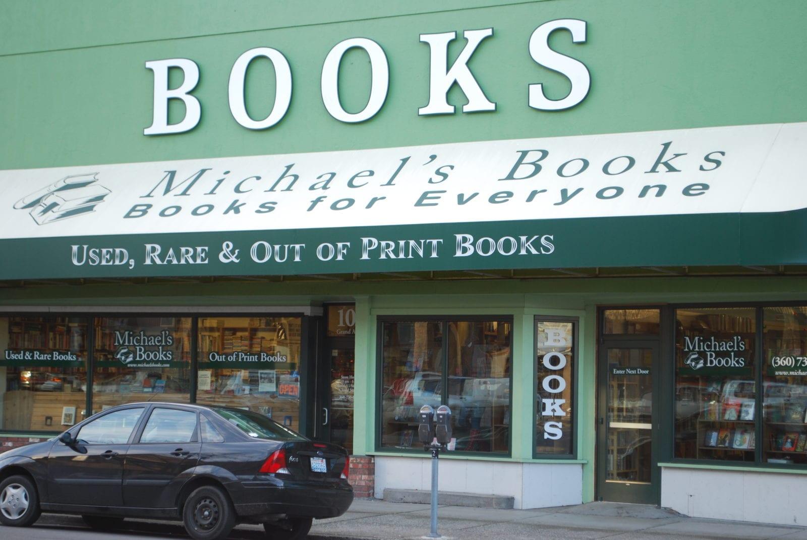 Michael's Books exterior