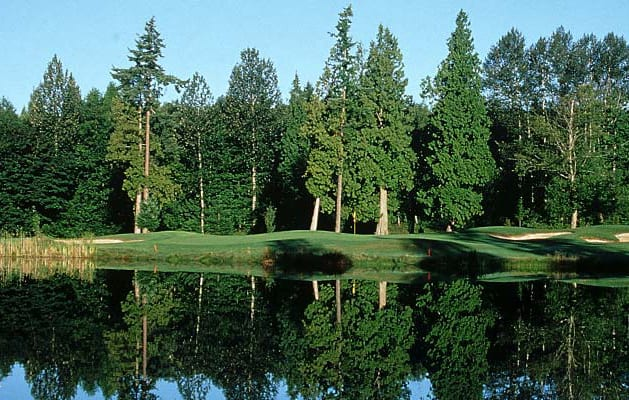 """A natural setting and above average playing conditions make Loomis Trail a """"Best Bet"""" in Whatcom County."""