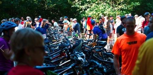 Traverse Mountain Bike Transition