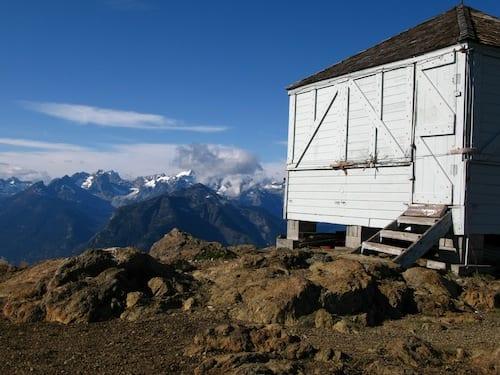 Desolation Peak Lookout view