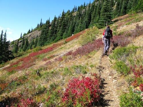 Desolation Peak climb