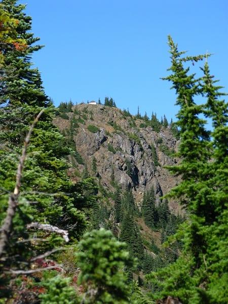 Desolation Peak lookout first sight