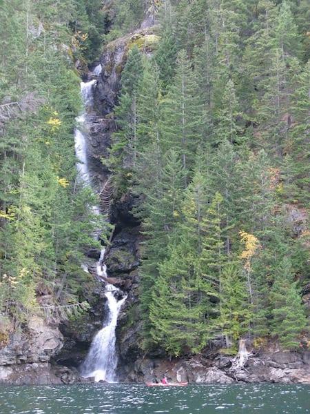 Ross Lake Waterfall