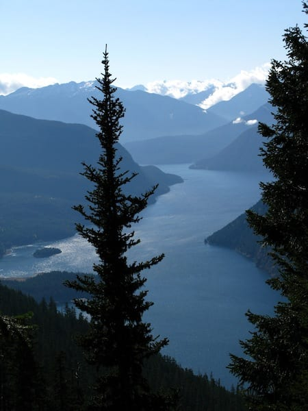 Ross Lake from above