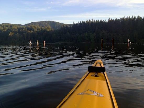 Kayak Lake Padden