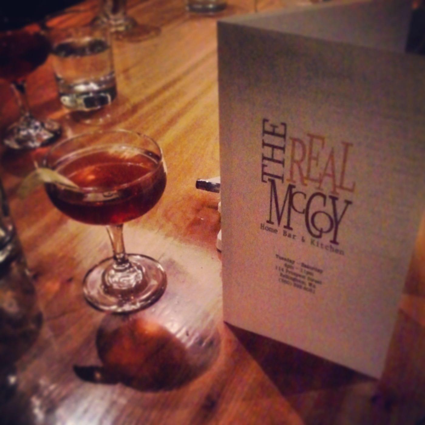 cocktails, bellingham, The Real McCoy