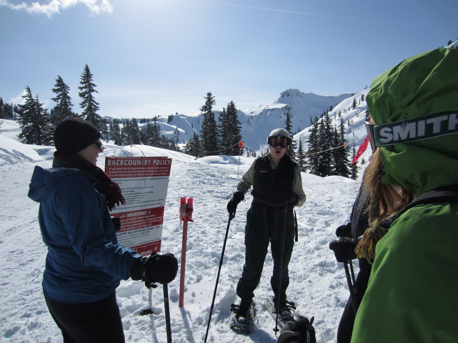 Range Guided Snowshoeing at Mt. Baker