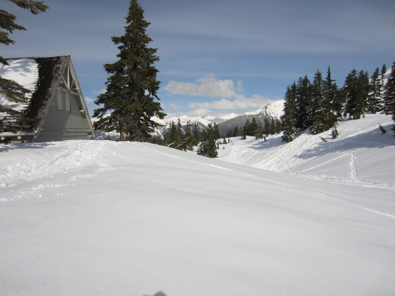 Heather Meadows in Winter