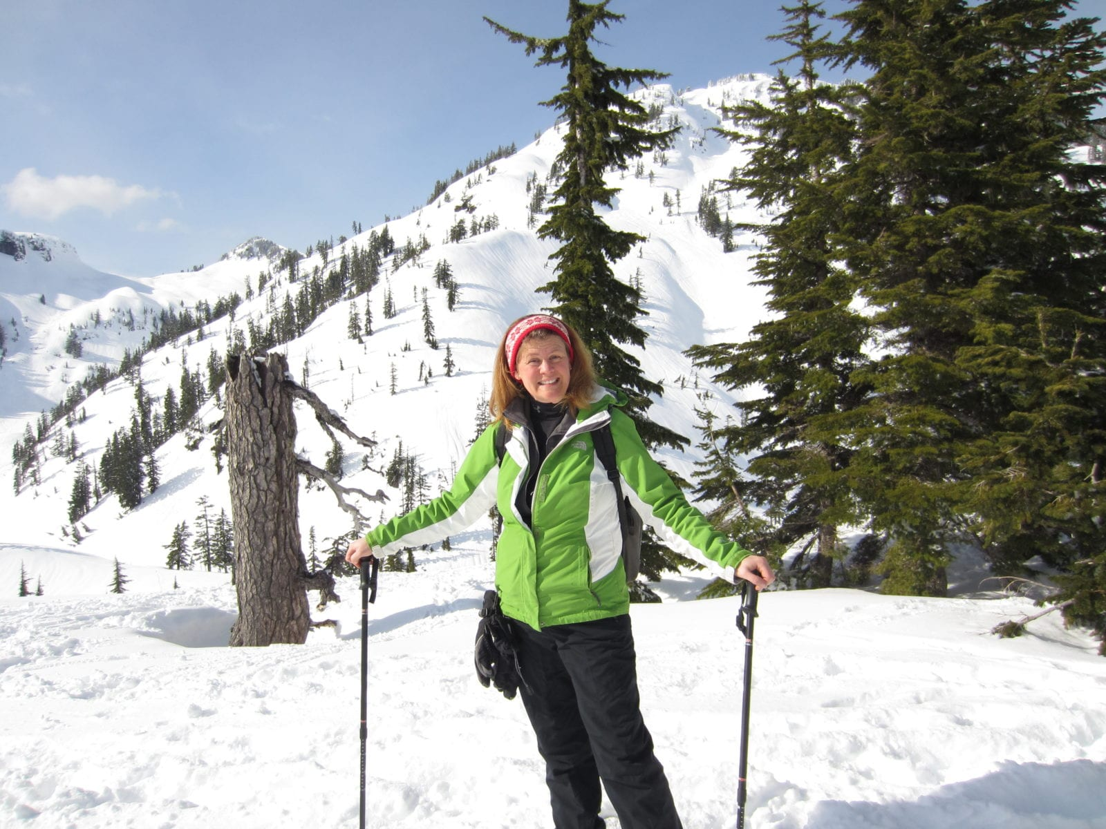 Snowshoeing at Mt Baker