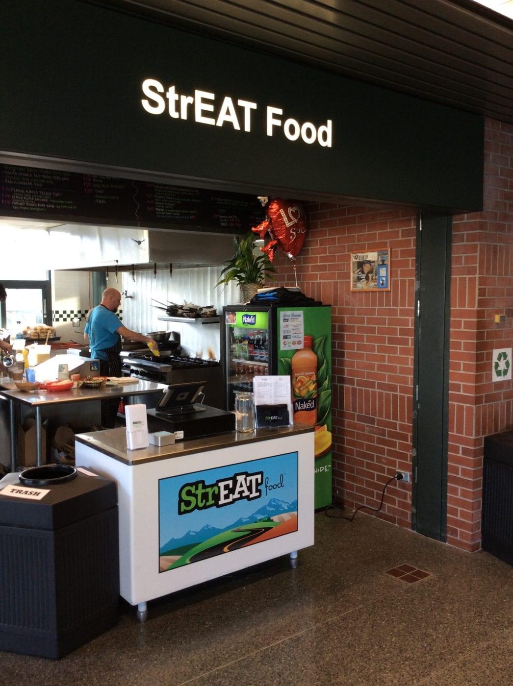 Streat food exterior