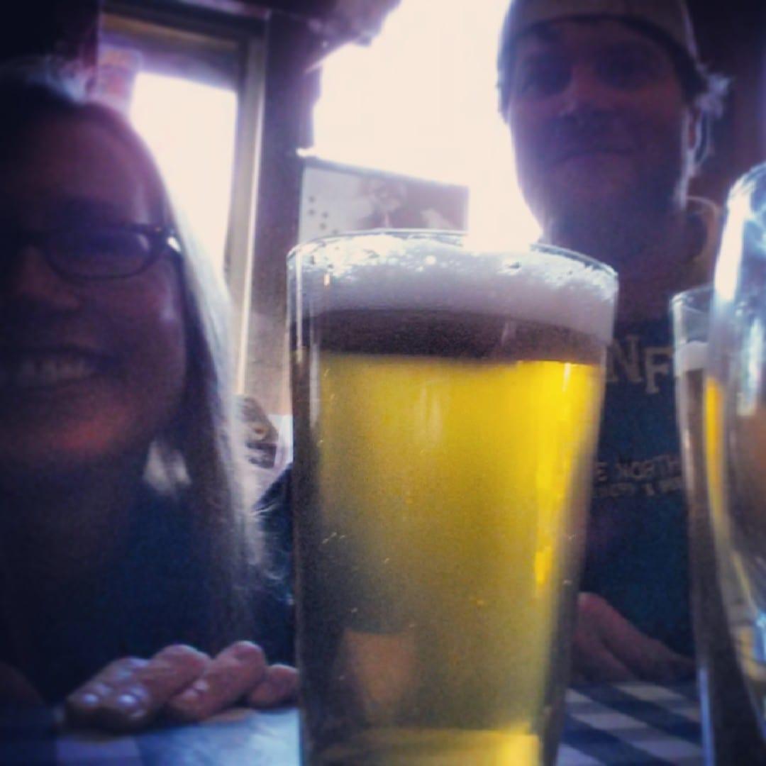 Eric Jorgensen, Teresa Schmidt, North Fork Brewery,
