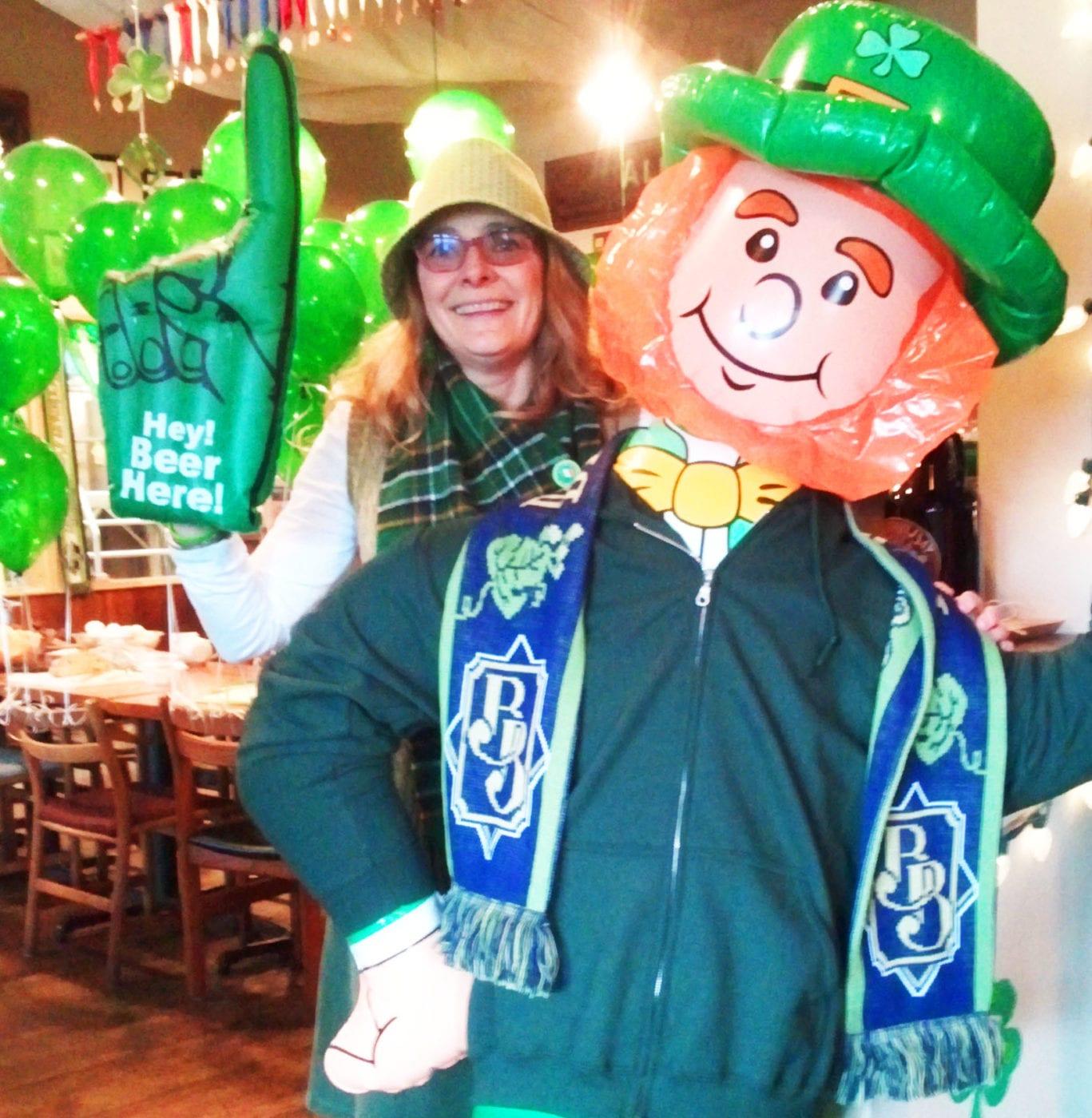 Boundary Bay Brewery, Janet Lightner, Bellingham, St. Patrick's Day, Craft Beer, Whatcom County, Parade
