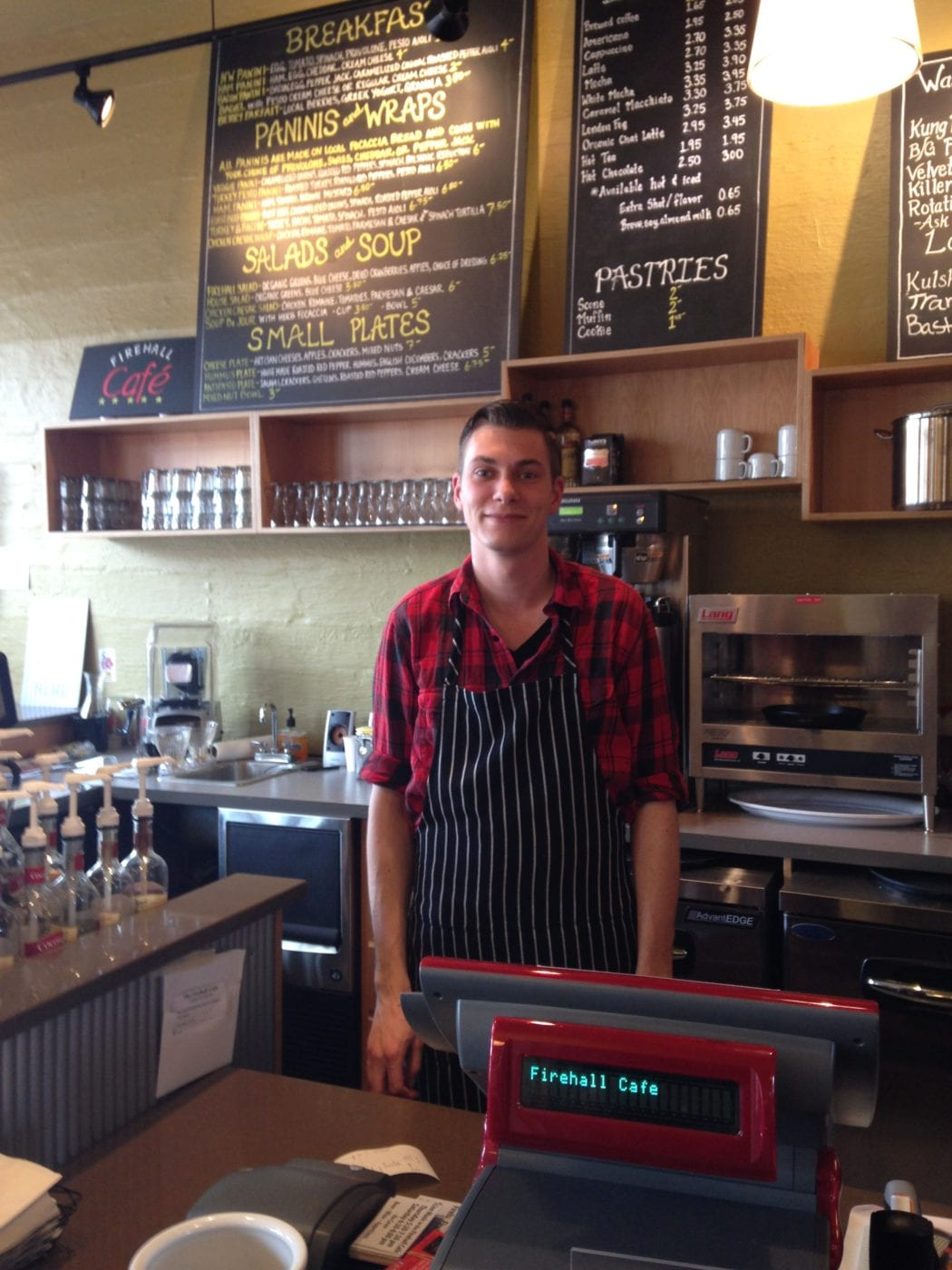 Firehall Cafe Manager