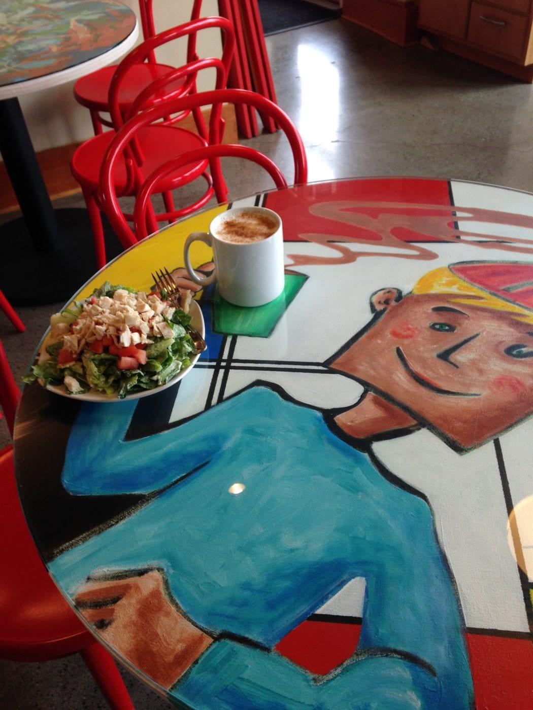 Firehall Cafe Table 2