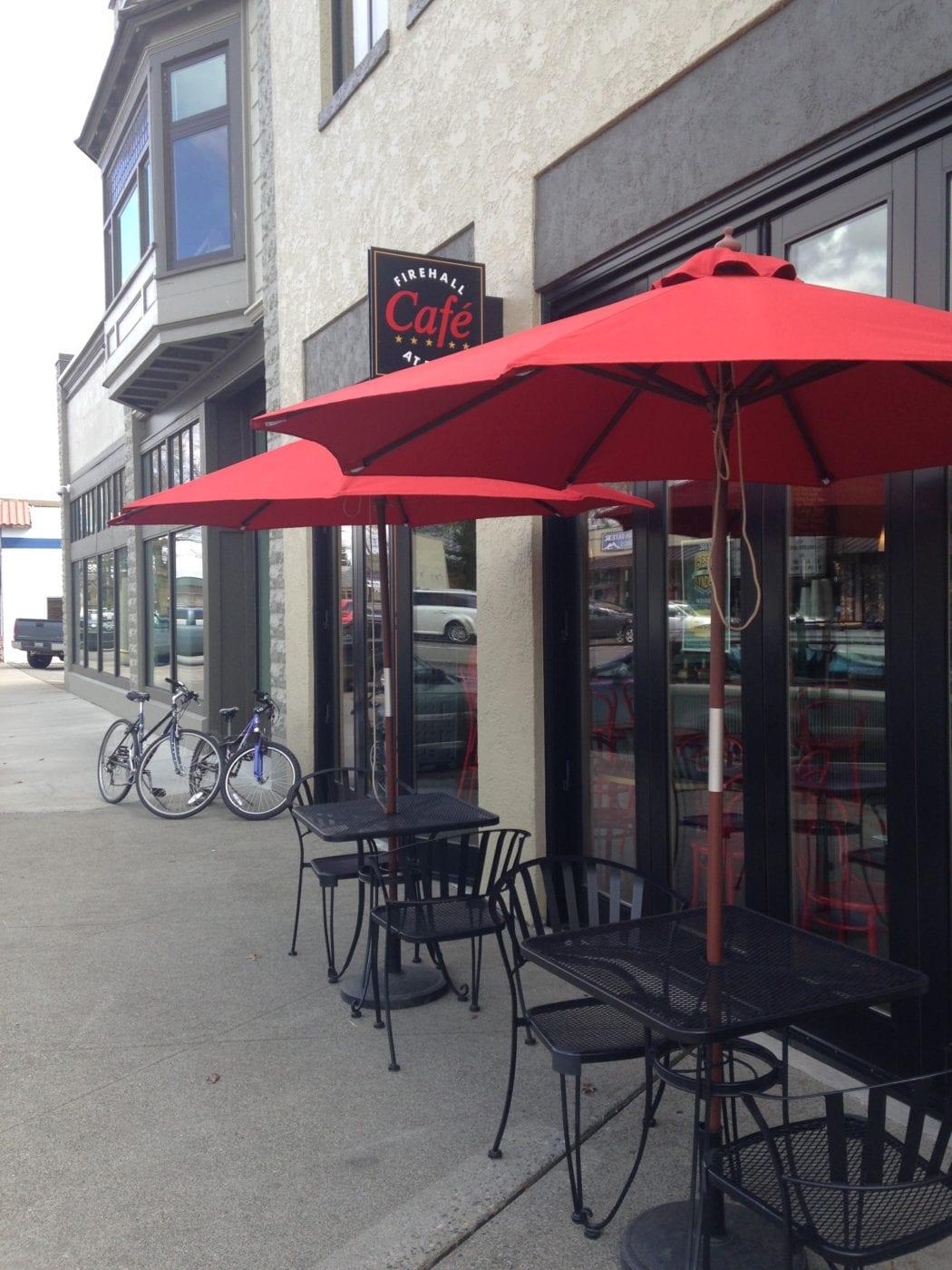 Firehall Cafe exterior