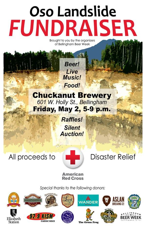 Oso, Washington, Landslide, Fundraiser, Bellingham, Beer Week, Chuckanut Brewery