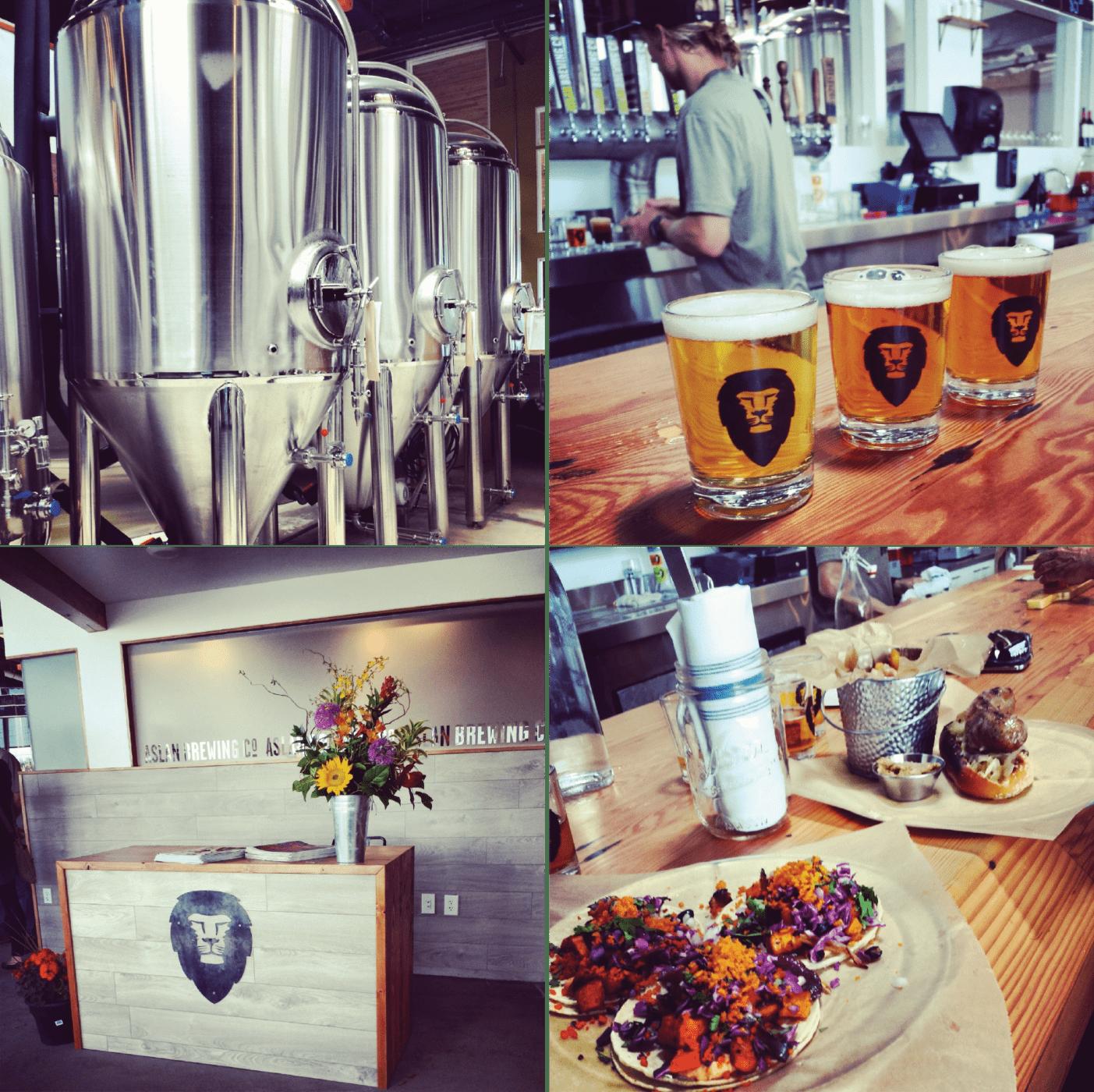 Aslan Brewing Co, Bellingham, Craft Beer, Brewery, Restaurant, Brewpub