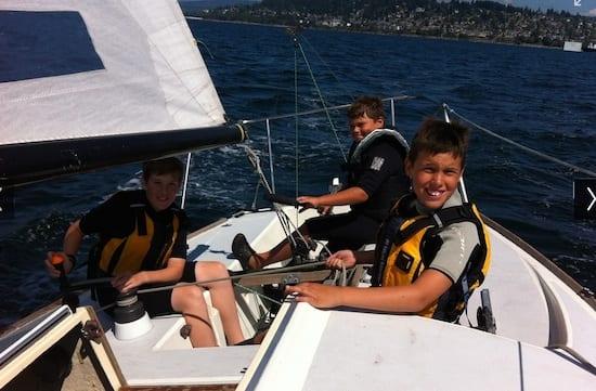 BoatingCenterSailing