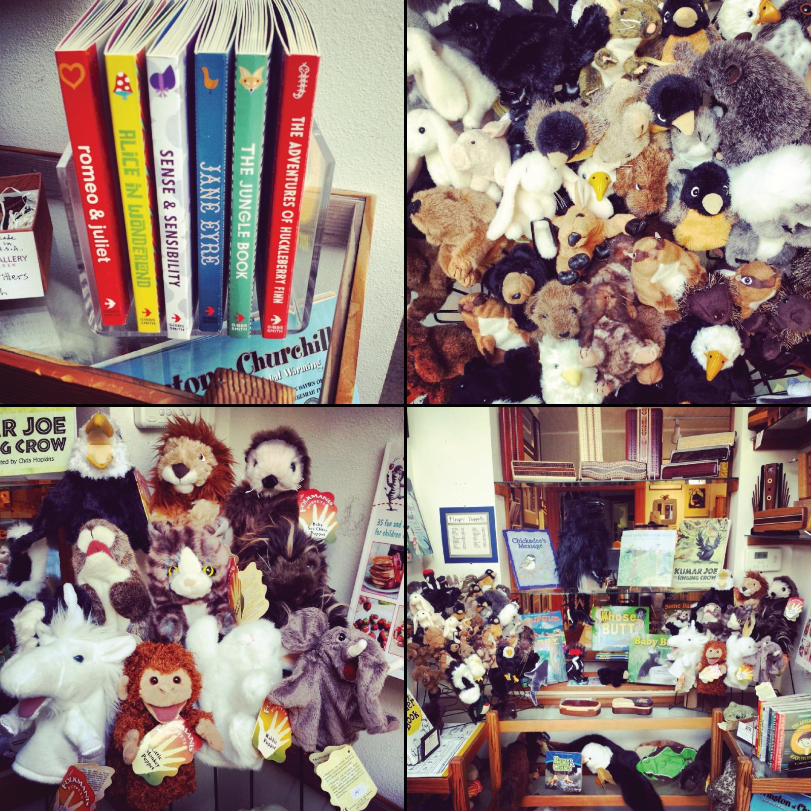 Chuckanut Bay Gallery, Bellingham, Chuckanut Drive, Art Gallery, Sculpture Garden, Pottery, Garden Art, Children's Books