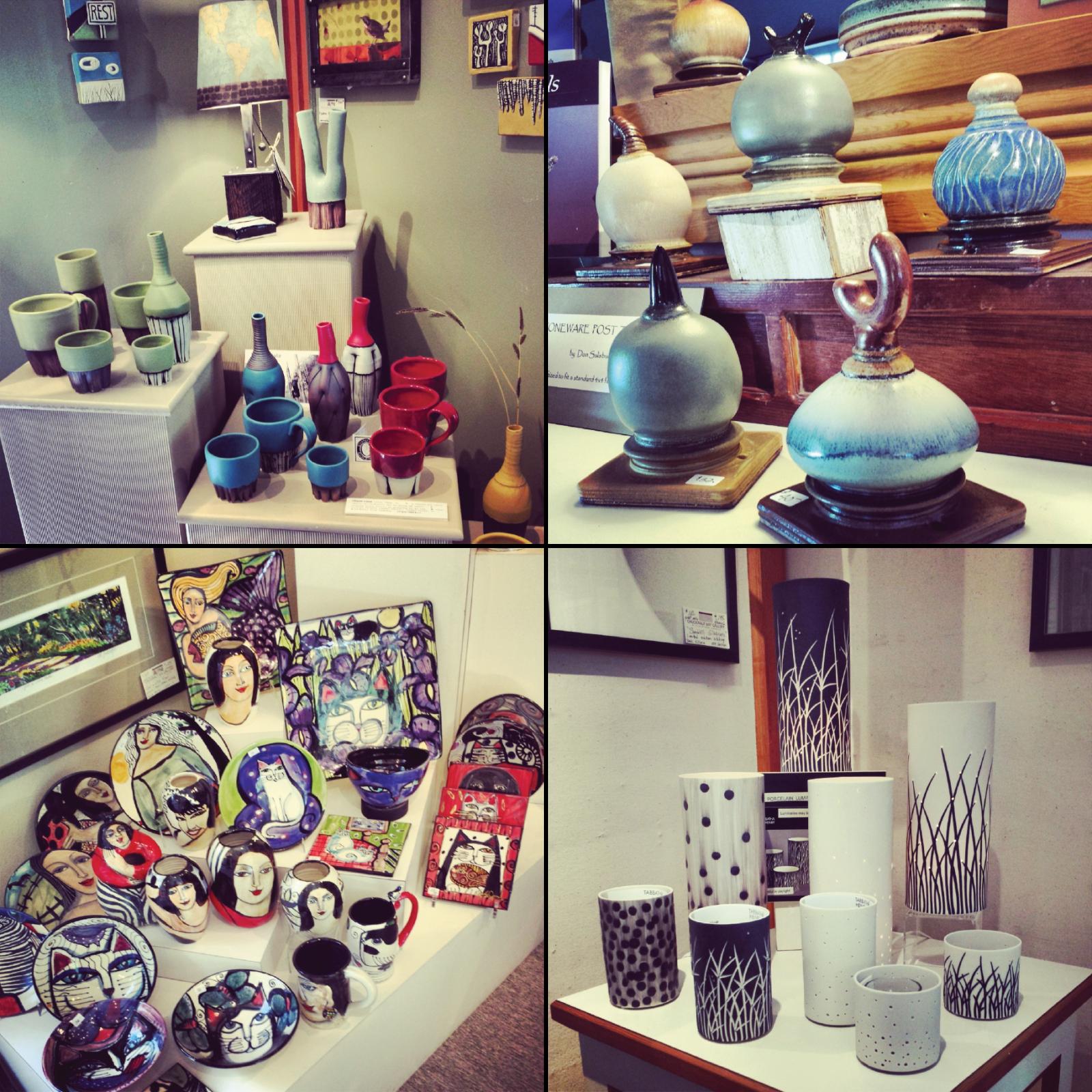 Chuckanut Bay Gallery, Bellingham, Chuckanut Drive, Art Gallery, Sculpture Garden, Pottery, Garden Art