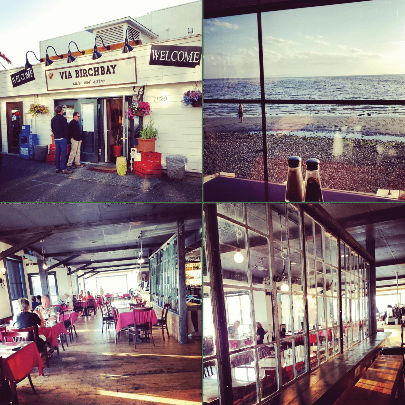 Via Birch Bay Cafe & Bistro, Birch Bay, Restaurant, Bar, Beachfront, Waterfront, Seafood, View