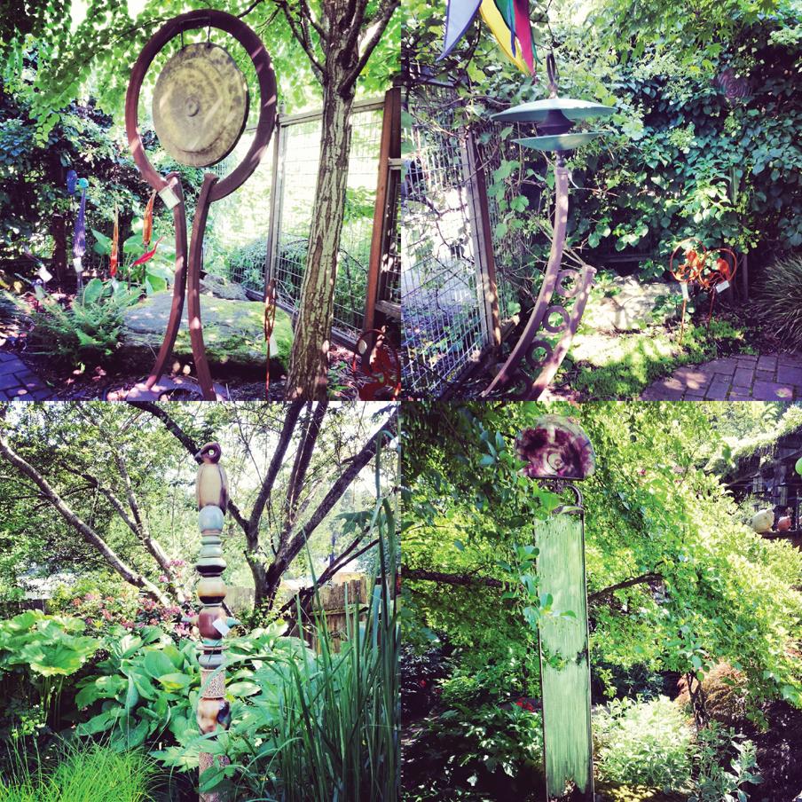 Chuckanut Gallery, Chuckanut Drive, Garden Art