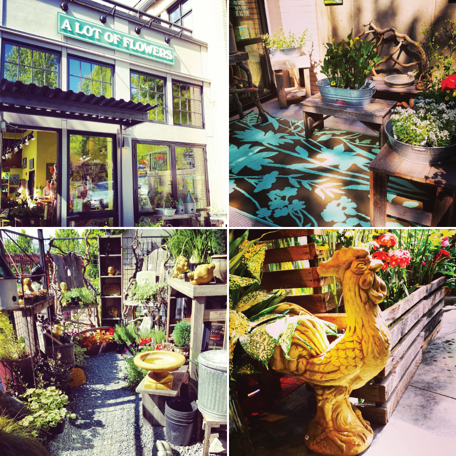 A Lot of Flowers, Fairhaven, Statuary, Garden Art