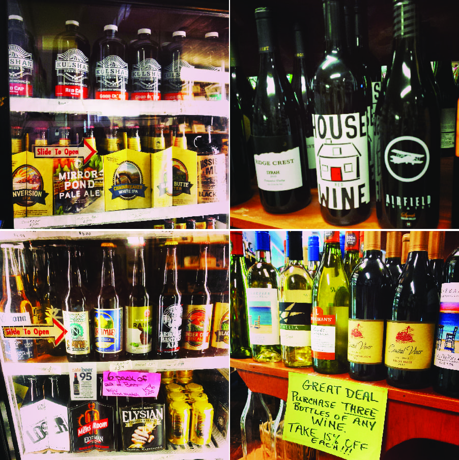 everybody's store, beer, wine, deming, variety store, whatcom county, shopping, deli, books