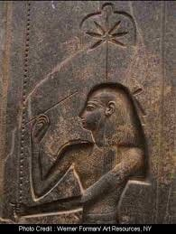 Ancient Image of Cannabis