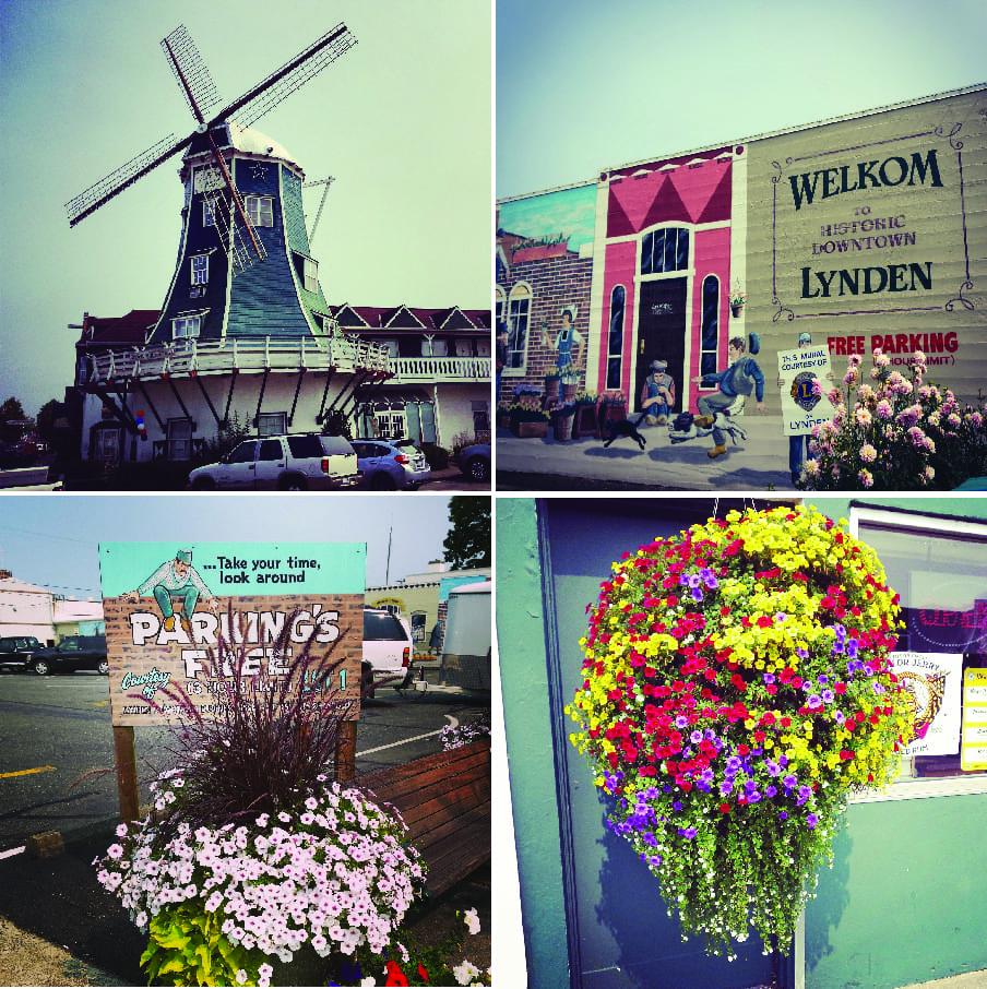 Lynden, Shopping, windmills, Dutch town