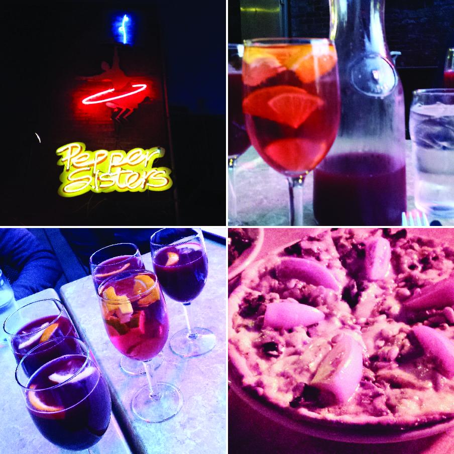 Pepper Sisters, Bellingham, Restaurant, Tex-Mex, Sangria, Beer, Wine