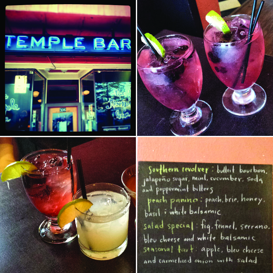 Temple Bar, Bellingham, Cocktails, Tapas, Sangria, Beer, Wine
