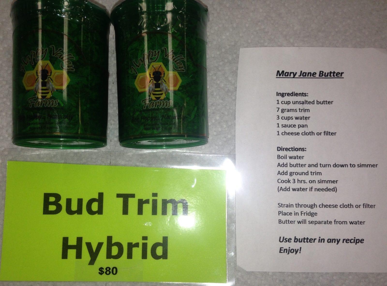 Edible Bud Trim photo