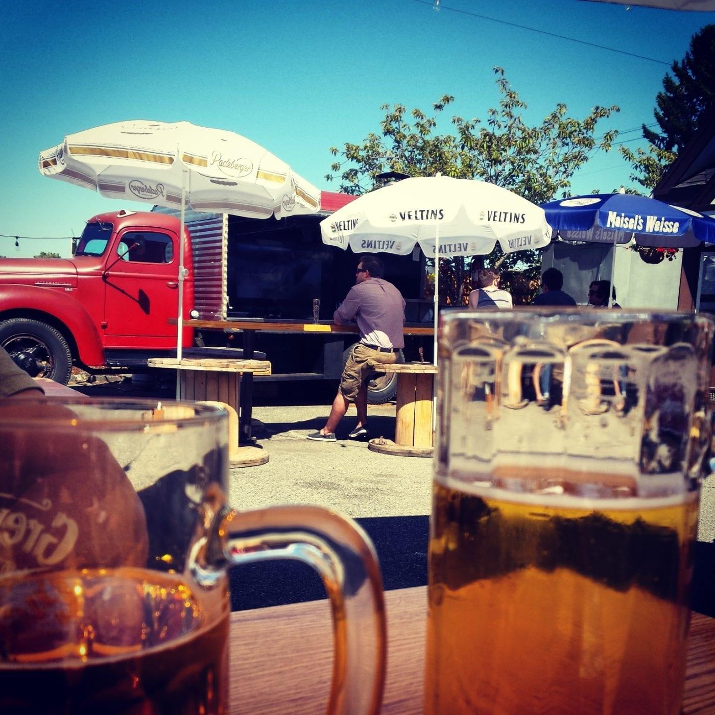 Bellingham Beer Week, Schweinhaus Biergarten, Breweries in Bellingham,