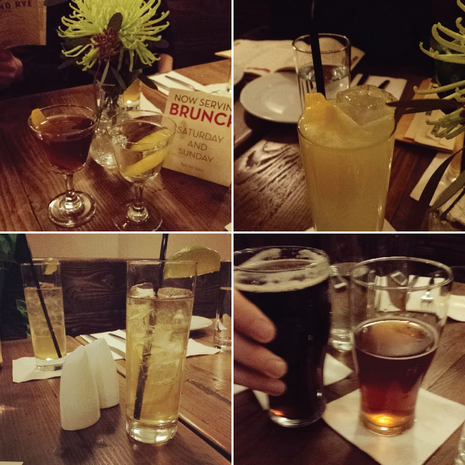 Rock and Rye, Bellingham, Cocktails, Bar, Happy Hour, Downtown, Oysters