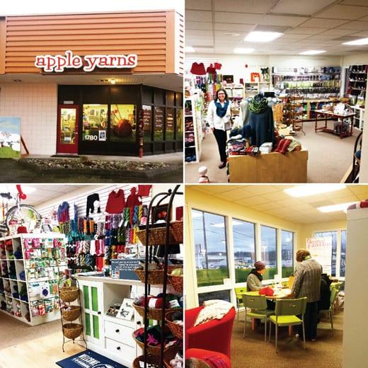 Whatcom County, Bellingham, Craft Store, Knitting, Yarn, Apple Yarns