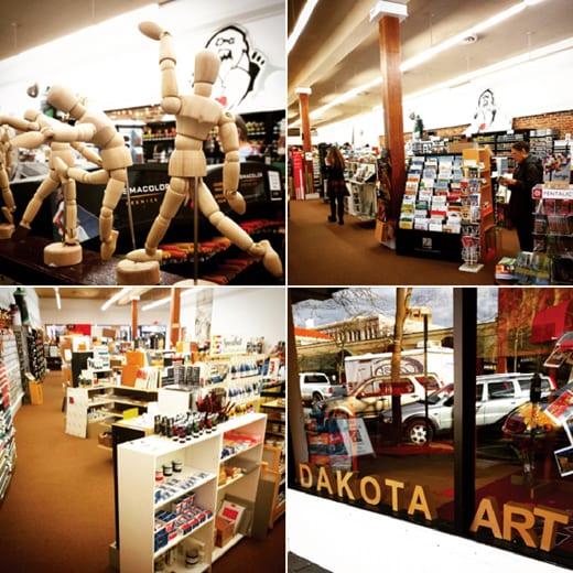 Dakota Art Store, Bellingham, Artists Supplies