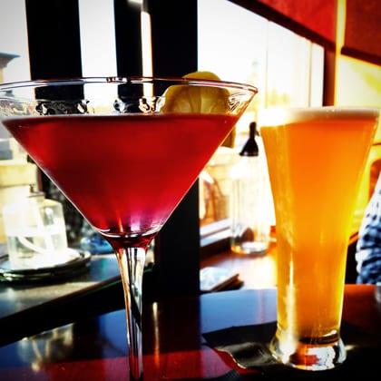 Fireside Martini Bar, Bellingham, Cocktails