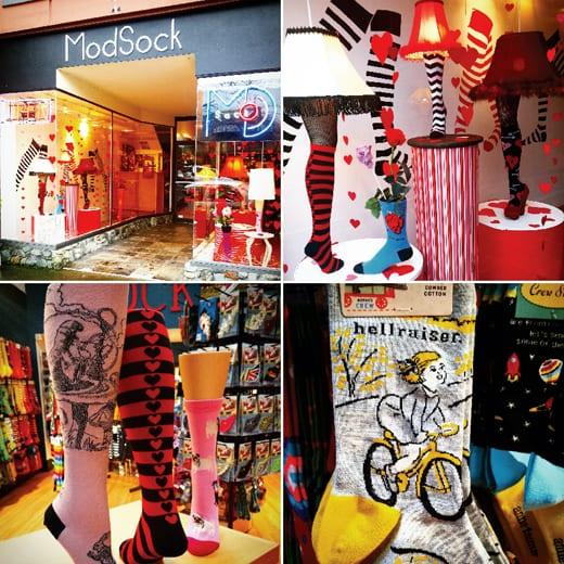 ModSock, Bellingham, Shopping, Valentines Day