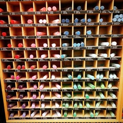 Dakota Art Store, Bellingham, Artists Supplies, Pastels