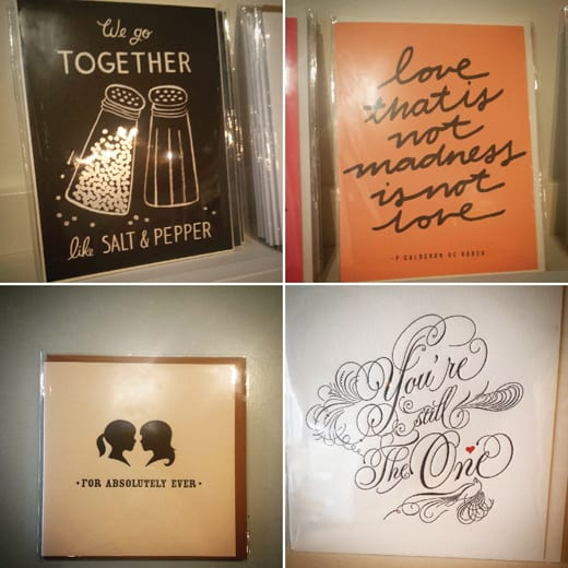 Spruce, Bellingham, Shopping, Valentines Day, Cards