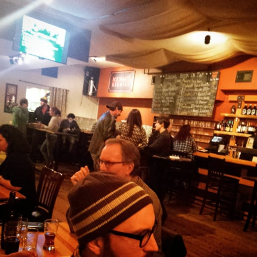 The Local Public House, Bellingham, WA, Craft Beer, Local Breweries, Winter Beers, Menace Brewing