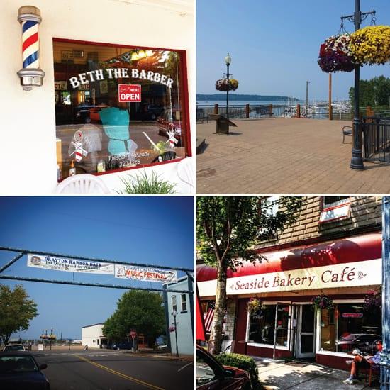 Blaine, WA, Shopping, Waterfront, Barber Shop, Seaside Bakery