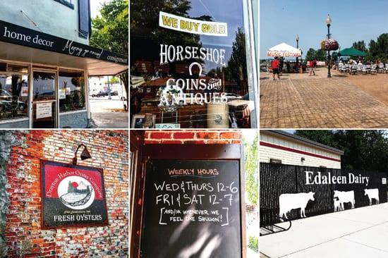 Blaine, WA, Shopping, Merry Go Round, Horseshoe Antiques, Drayton Harbor Oysters, Jazz Concert, Edaleen Dairy