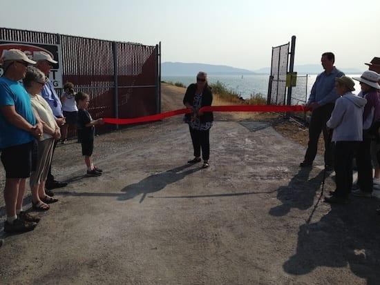Waterfront Trail Ribbon Cutting