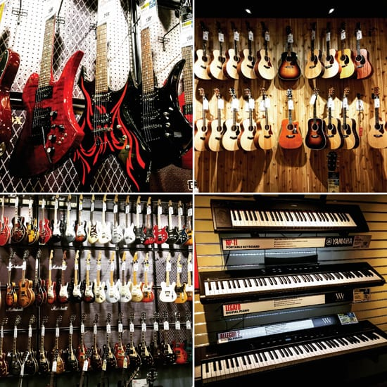 Guitar Center, Bellingham, Music Store, guitar lessons, music lessons