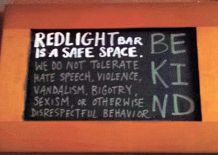 Redlight Be kind