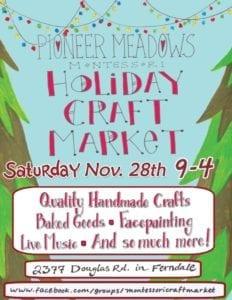 Ferndale, Holiday Arts Markets,