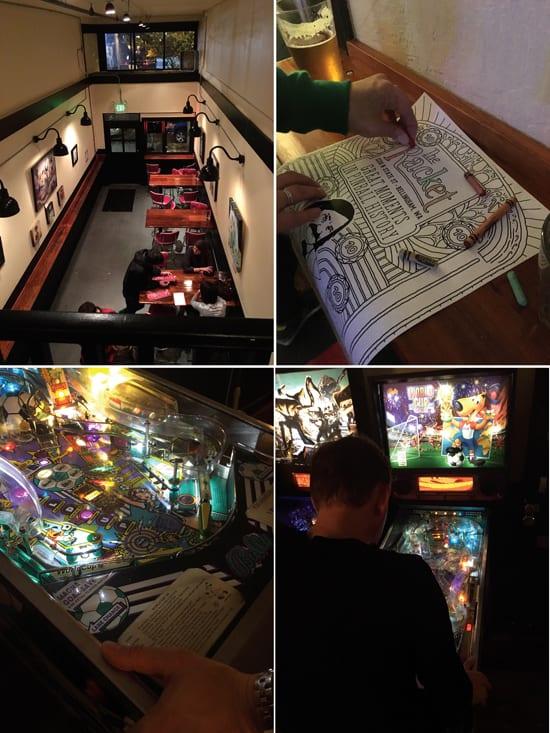 The Racket, Bellingham, Bar, Pinball
